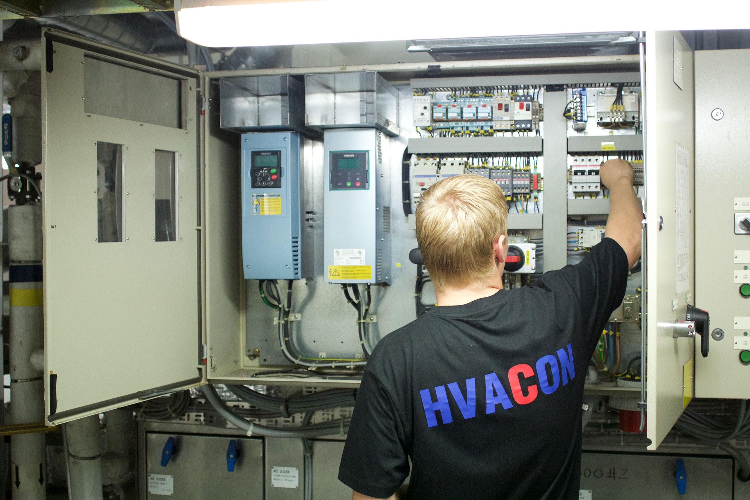 HVAC control energy  optimization and management electrical design  #8D5E3E
